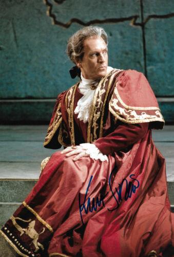 Kurt Streit Opera signed 8x12 inch photo autograph