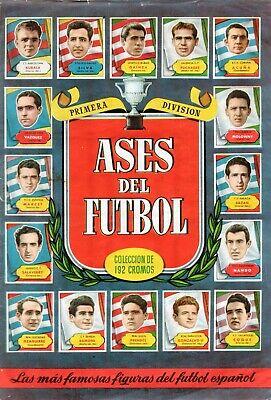 ALBUM CROMOS FUTBOL FACSIMIL 52-53 ASES DEL FUTBOL BRUGUERA COMPLETO Y NUEVO