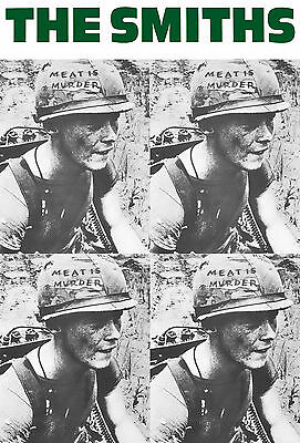 "The Smiths Poster Meat is Murder 24"" x 36""  Free US Shipping"