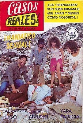 FOTONOVELA MEXICO, CASOS REALES!, LAURA LUGO, YARA PATRICIA, TV Y NOVELAS