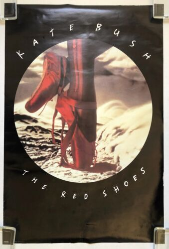 KATE BUSH The Red Shoes 1993 US PROMO Only POSTER Rubber Band Girl VG+