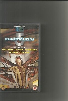 babylon 5 video volume 20