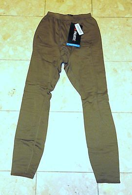Usmc Men's Brown Grid Fleece Drawers - Size Extra Small / Regular - Brand