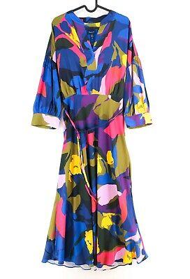 GANT Colorido Splendid Vestido de Flores Talla Eu 40 GB 12 Ee....