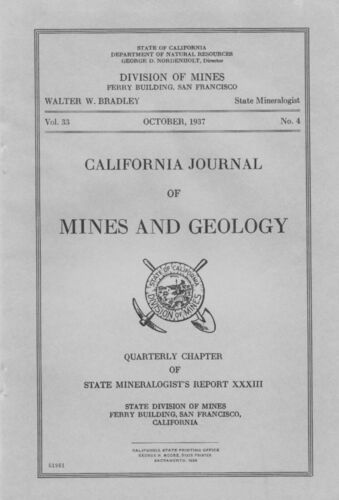 RARE GOLD SILVER MINES, Resting Springs, Tecopa, Death Valley, Inyo, Calif, maps