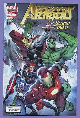 Avengers Ultron Quest  1 2012 Custom Edition Wyndham Rewards Marvel