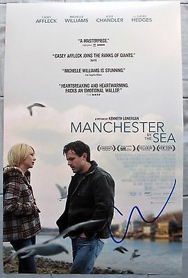 CASEY AFFLECK SIGNED 11x17 PHOTO DC/COA MANCHESTER BY THE SEA