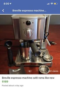 Breville Cafe Roma mint condition