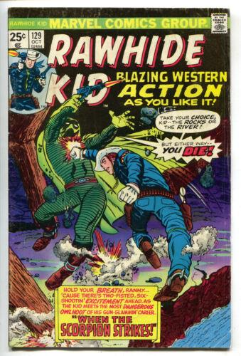 Rawhide Kid 129 Marvel 1975 FN 57 Cowboy Western