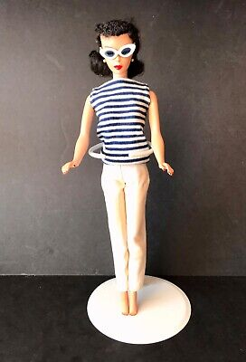 1959 Vintage Barbie Brunette Ponytail Doll ~ 850 ~ #3 ~ Original Owner