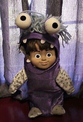 Disney Monsters Inc Boo Costume (Boo Soft Doll with Costume Vinyl Head Monsters Inc Pixar)