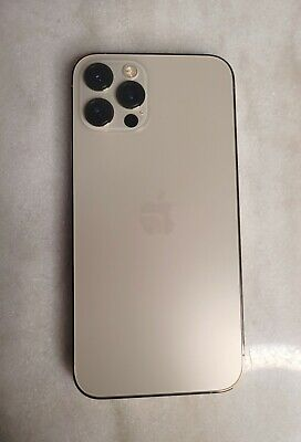 Apple iPhone 12 Pro Max - 256GB - GOLD AT&T Locked. Flawless. For Parts Only