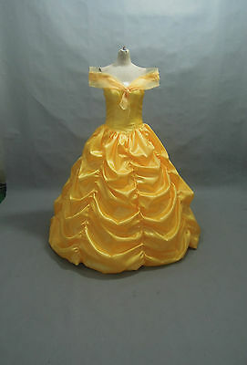 PLUS SIZE Disney Dress Beauty and Beast Belle Costume adult SZ18,20,22,24,26,28