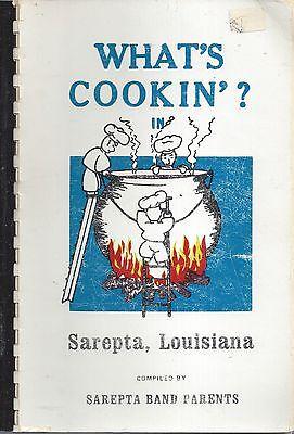 Whats Cookin In Sarepta La 1974 School Band Parents Cook Book Local Ads Recipes