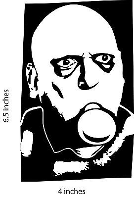 UNCLE FESTER Stickers Fester Addams Adams Family Christopher Lloyd Jack Coogan