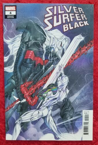 Silver Surfer Black #4, 1:25 Peach Momoko, 1st, Marvel, 2019; Knull; Donny Cates