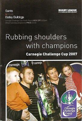 St Helens v Batley - Challenge Cup - 2007