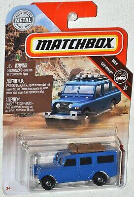 Matchbox 2019 #64 1965 Land Rover Gen II MOC MBX Off Road #7 Mattel FYP39