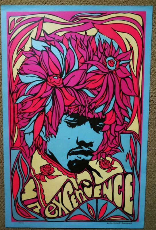 Jimi Hendrix Experience Original Litho Print