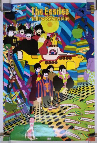 THE BEATLES Yellow Submarine Movie 2007 Aquarius Ltd POSTER Lennon McCARTNEY
