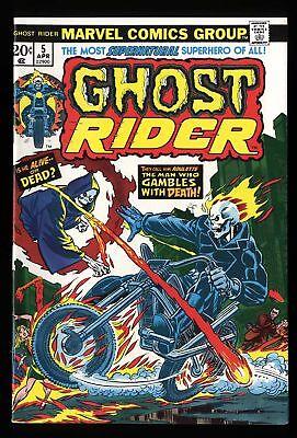 Ghost Rider #5 VF+ 8.5