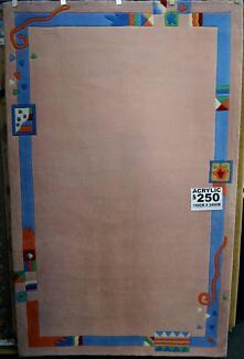 New Acrylic Floor Rug Flooring Rugs Kids Bedroom Clearance Sale Richmond Yarra Area Preview