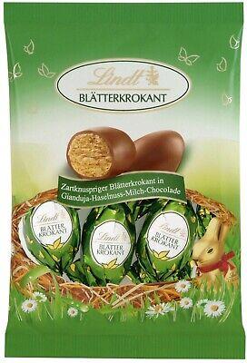 (100g=3,28€) Lindt Blätterkrokant Ostereier Pralinen - Krokant Schokolade - 85g