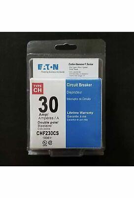 Cutler Hammer Ch230cs 30 Amp 240v Circuit Breaker Double Pole
