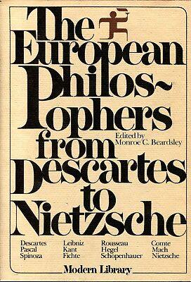 The European Philosophers From Descartes to Nietzsche Modern Library Giant HC