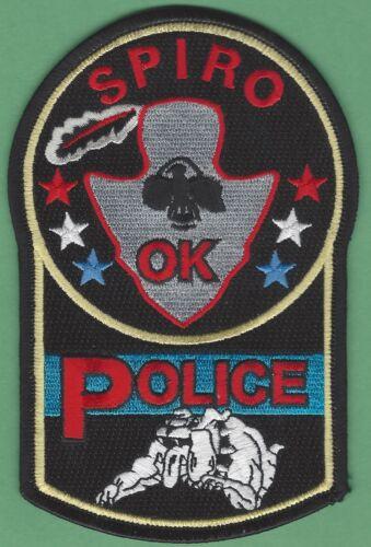 SPIRO OKLAHOMA POLICE SHOULDER PATCH