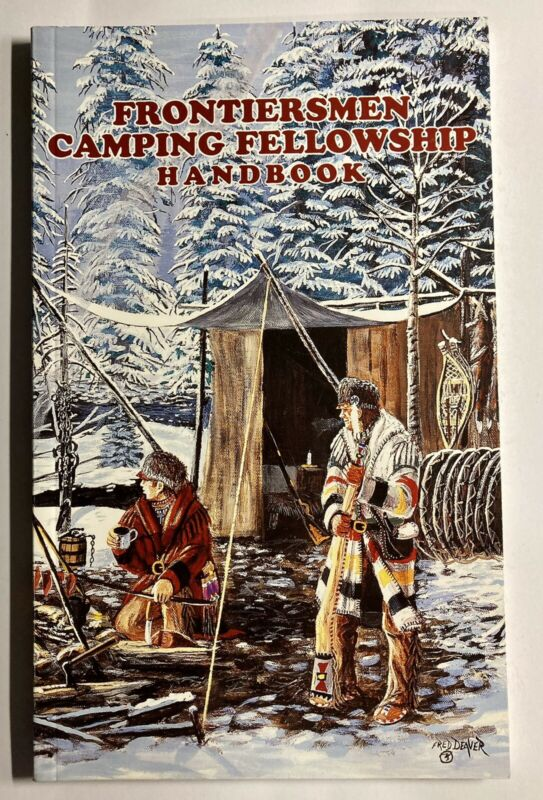 Royal Rangers Frontiersmen Camping Fellowship Handbook Fred Deaver Cover