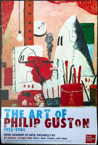 Philip Guston Exhibition Poster - Modern Fine Art Print Kaws