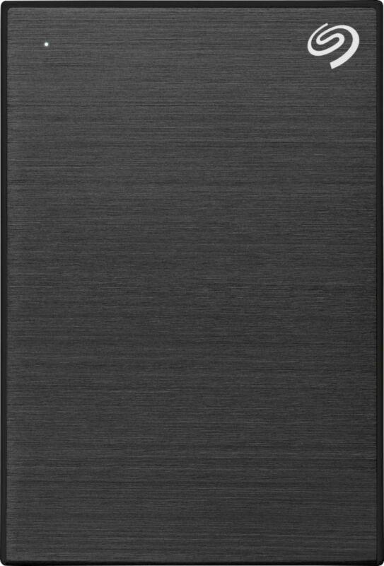 Seagate - Backup Plus Slim 2TB External USB 3.0 Portable Hard Drive - Black