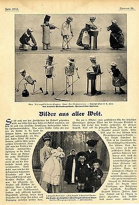 Weihnachtsgeschenke für Kinder: Automatisches Spielzeug u.a. von 1906