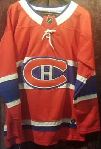 Non-Autograph Carey Price #31 Montreal Canadians Red Jersey New Size Extra Large