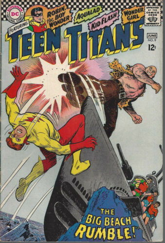 Teen Titans  #9  VG+  Silver Age  May - June 1967
