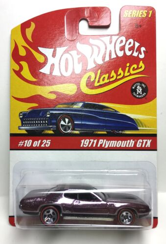 Hot Wheels Classics 1971 Plymouth GTX - SERIES 1 - #10 of 25 - CHAMPAGNE - 1:64