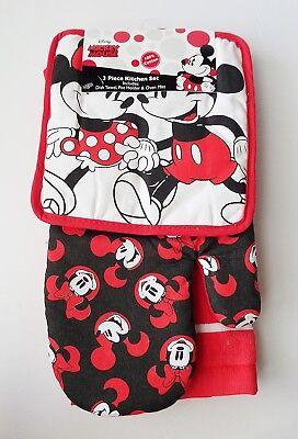 Disney - Mickey & Minnie Mouse - Mickey & Minnie Stroll 3 Pi