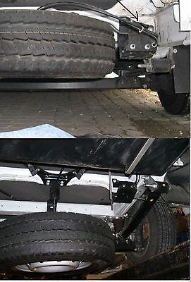 ORIGINAL FIAT DUCATO 250 KASTEN Reserveradhalterung KIT neue Version 15 ZOLL