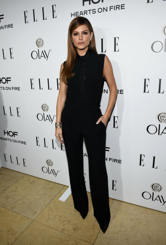Schauspielerin Maria Menounos im edlen Jumpsuit (Michael Buckner/Getty Images)
