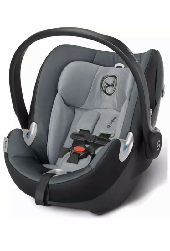 Cybex Platinum Aton Q Infant Car Seat Grey