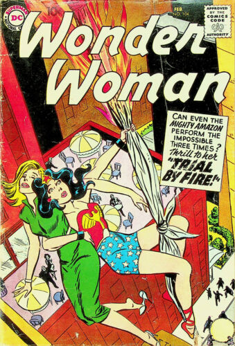 Wonder Woman #104 (Feb 1959, DC) - Good-