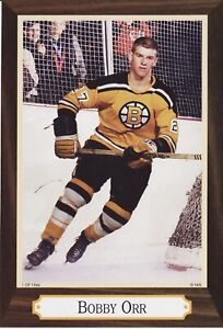 Bobby Orr Set of 5 (5X7's) Only 1966 Sets of these!