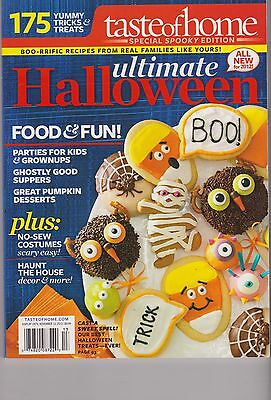 TASTE OF HOME ULTIMATE HALLOWEEN 2013 175 YUMMY TRICKS & TREATS PARTIES FOR KIDS