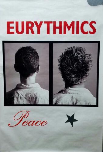 Eurythmics 1999 Peace Rare Original UK Jumbo Promo Poster