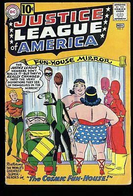 Justice League Of America #7 VG+ 4.5