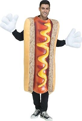 Adult Hot Dog Costume One Size