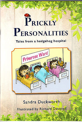 TALES FROM A HEDGEHOG HOSPITAL - 'PRICKLY PERSONALITIES' BOOK OF HUMOROUS RHYMES