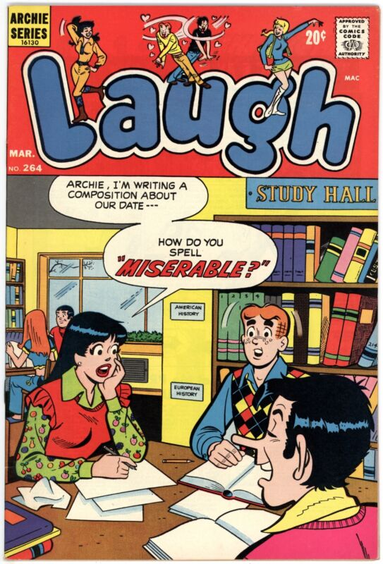 Laugh Comics (1946) #264 NM- 9.2