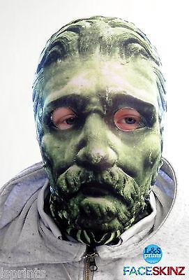 n Gesicht Skin Lycra Gewebe Gesichtsmaske Halloween Lsprints (Grünes Gesicht Maske Halloween)